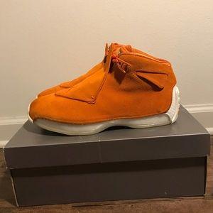 Jordan 18 Orange